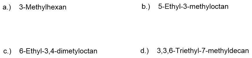 bung-zur-Nomenklatur-der-Alkane-II Nomenklatur der Alkane