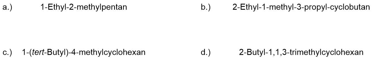 bung-zur-Nomenklatur-der-Cycloalkane-I-1 Nomenklatur der Cycloalkane