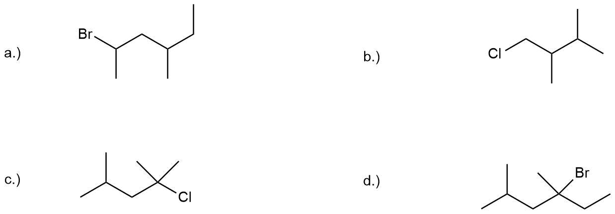 bungen-Teil-II Nomenklatur der Alkane