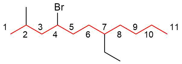 Beispiel-II Nomenklatur der Alkane