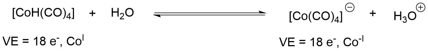 Deprotonierung Abspaltung/Koordination von Liganden