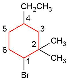 Nomenklatur-der-Cycloalkane-Beispiel-II Nomenklatur der Cycloalkane