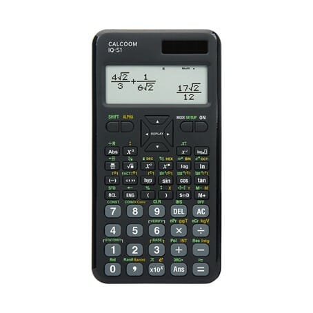 Taschenrechner-1 Bester wissenschaftlicher Taschenrechner für das Abitur